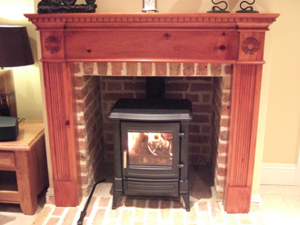 Canterbury Stone and Marble Stanford 13 Multi-Fuel stove